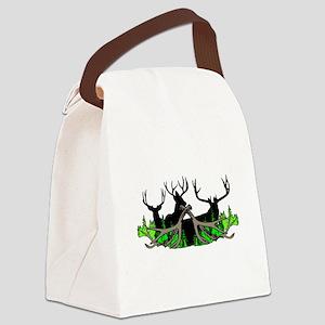Deer shed 3 Canvas Lunch Bag