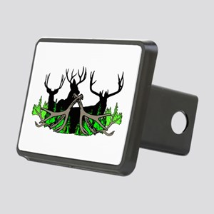 Deer shed 3 Rectangular Hitch Cover