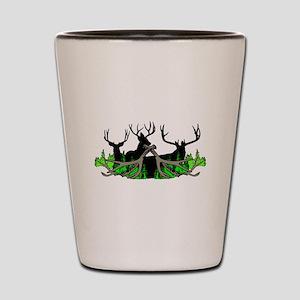Deer shed 3 Shot Glass