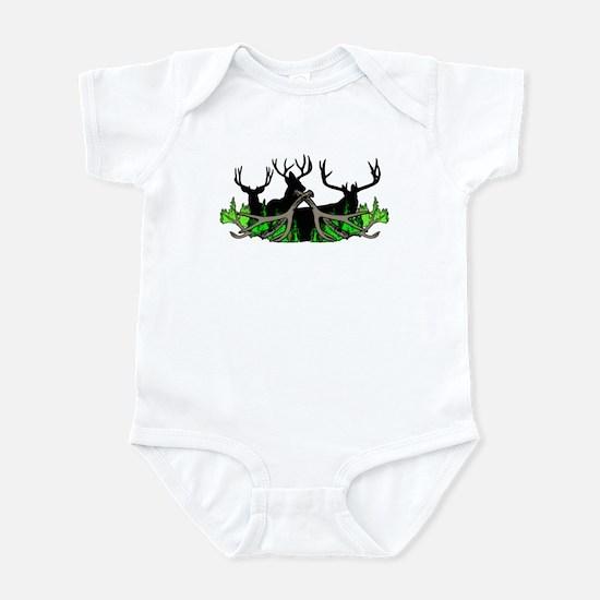 Deer shed 3 Infant Bodysuit