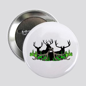 "Deer shed 3 2.25"" Button"