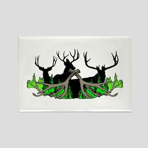 Deer shed 3 Rectangle Magnet