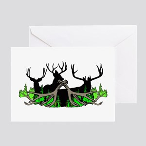 Deer shed 3 Greeting Card