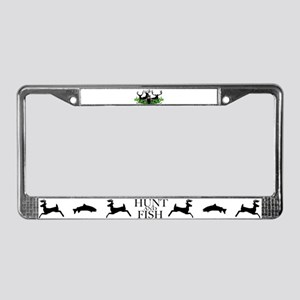 Deer Shed 3 License Plate Frame