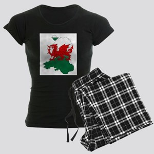 Wales and the Dragon Women's Dark Pajamas