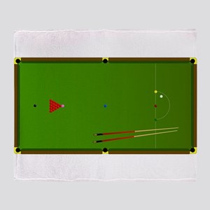 Snooker Table Throw Blanket