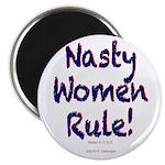 Nasty Women Rule Magnets