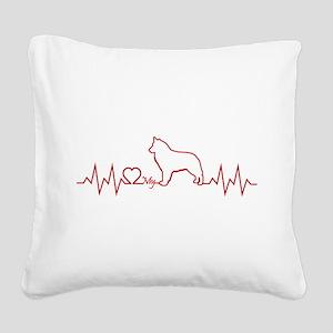 BELGIAN SHEEPDOG Square Canvas Pillow