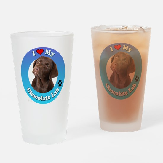 Unique Lab lovers Drinking Glass