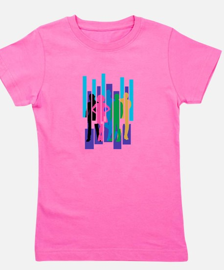 Cute Graphic Girl's Tee