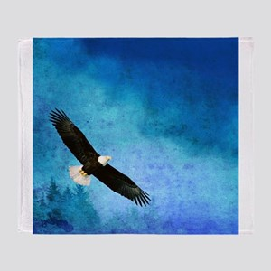 Soaring Eagle Throw Blanket