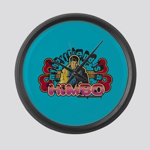 90210 Boyfriend Himbo Large Wall Clock