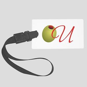 Olive U Large Luggage Tag