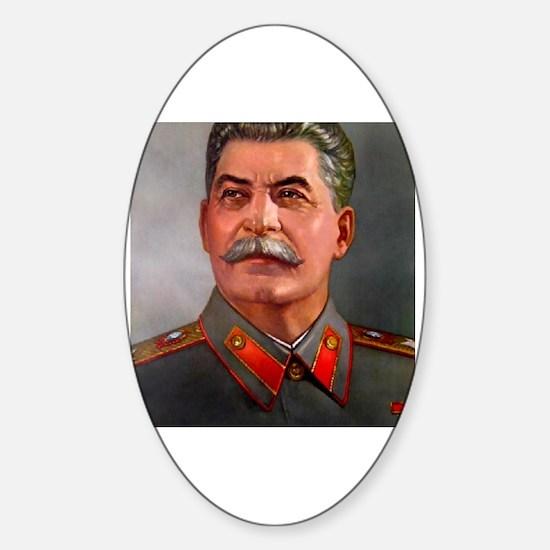 Unique Joseph stalin Sticker (Oval)