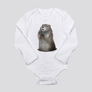 groundhog coming up Body Suit
