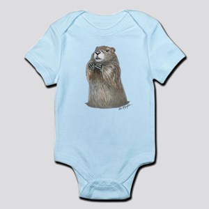 emerging groundhog Body Suit
