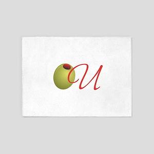 Olive U 5'x7'Area Rug