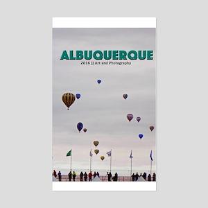 Albuquerque Balloons Sticker (rectangle)