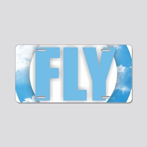 FLY Aluminum License Plate