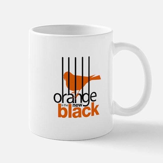 Orange is the New Black Caged Bird Mugs