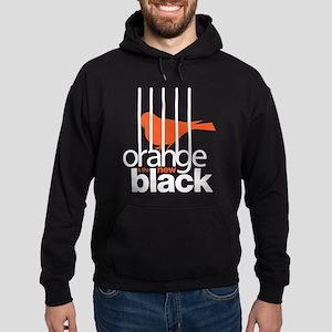 Orange is the New Black Caged Bird Hoodie (dark)