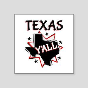 Texas Y'all Sticker
