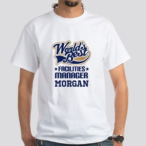 Facilities Manager Personalized Gift T-Shirt