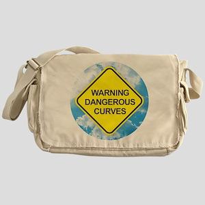 Dangerous Curves Messenger Bag