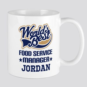 Food Service Manager Personalized Gift Mugs