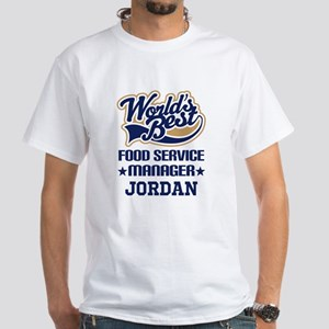 Food Service Manager Personalized Gift T-Shirt