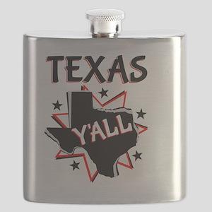 Texas Y'all Flask