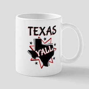 Texas Y'all Mugs