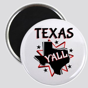 Texas Y'all Magnets
