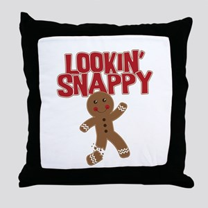 Lookin' Snappy Throw Pillow