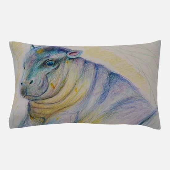 Hippopo Pillow Case