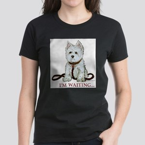 Westie Walks Ash Grey T-Shirt