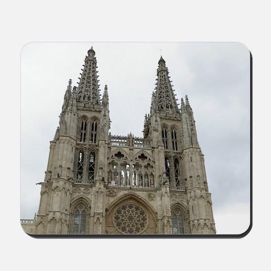 Burgos Cathedral Mousepad
