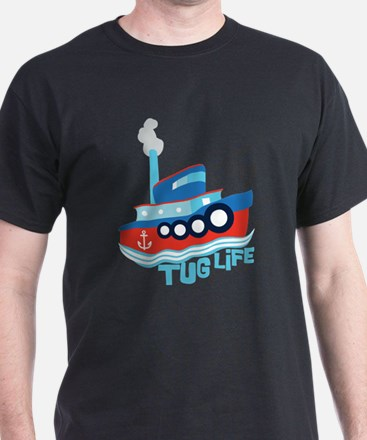 Tug Life Women's Cap Sleeve T-Shirt