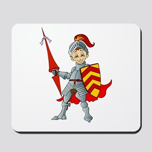 Let's Go Medieval - Jolly Good Knight Mousepad