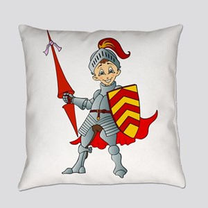 Let's Go Medieval - Jolly Good Kni Everyday Pillow