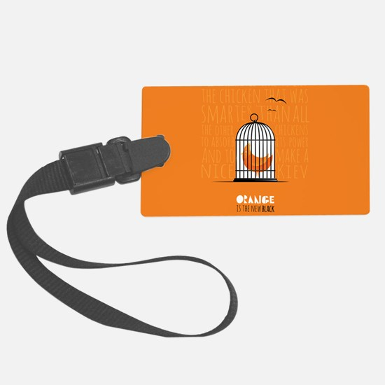 Orange is the New Black - Caged Luggage Tag