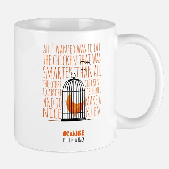 Orange is the New Black - Caged Chicken Mug