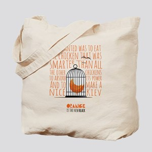 Orange is the New Black - Caged Chicken Tote Bag