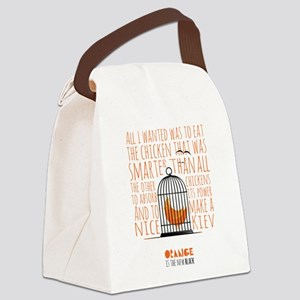 Orange is the New Black - Caged C Canvas Lunch Bag