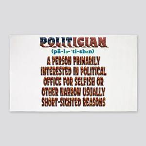 Politician Area Rug