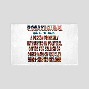 Politician Area Rug