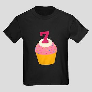 7th Birthday Cupcake T-Shirt