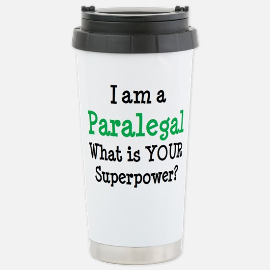 paralegal Stainless Steel Travel Mug
