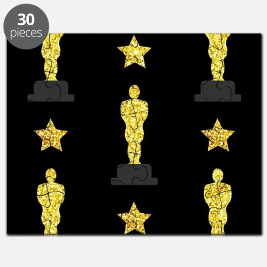 Gold Oscar Statue Puzzle