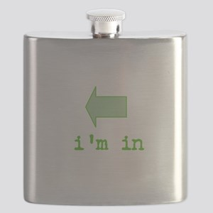 green confidence Flask